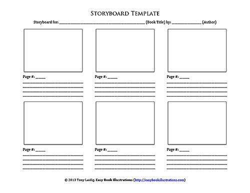 Storyboard Template Templates Letterhead Template