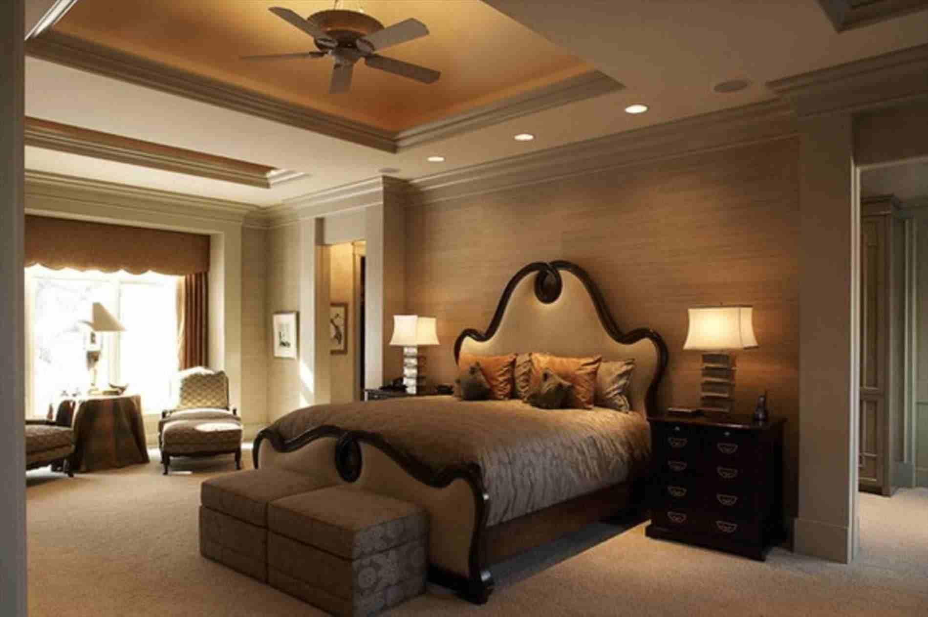 Contemporary Bedroom Ceiling Designs (With images ...