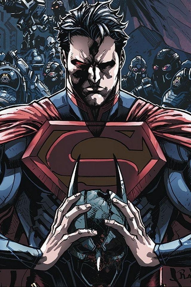 Injustice 2 Official Mobile Wallpapers Injustice Online Injustice Comic Dc Comics Artwork Superman Wallpaper