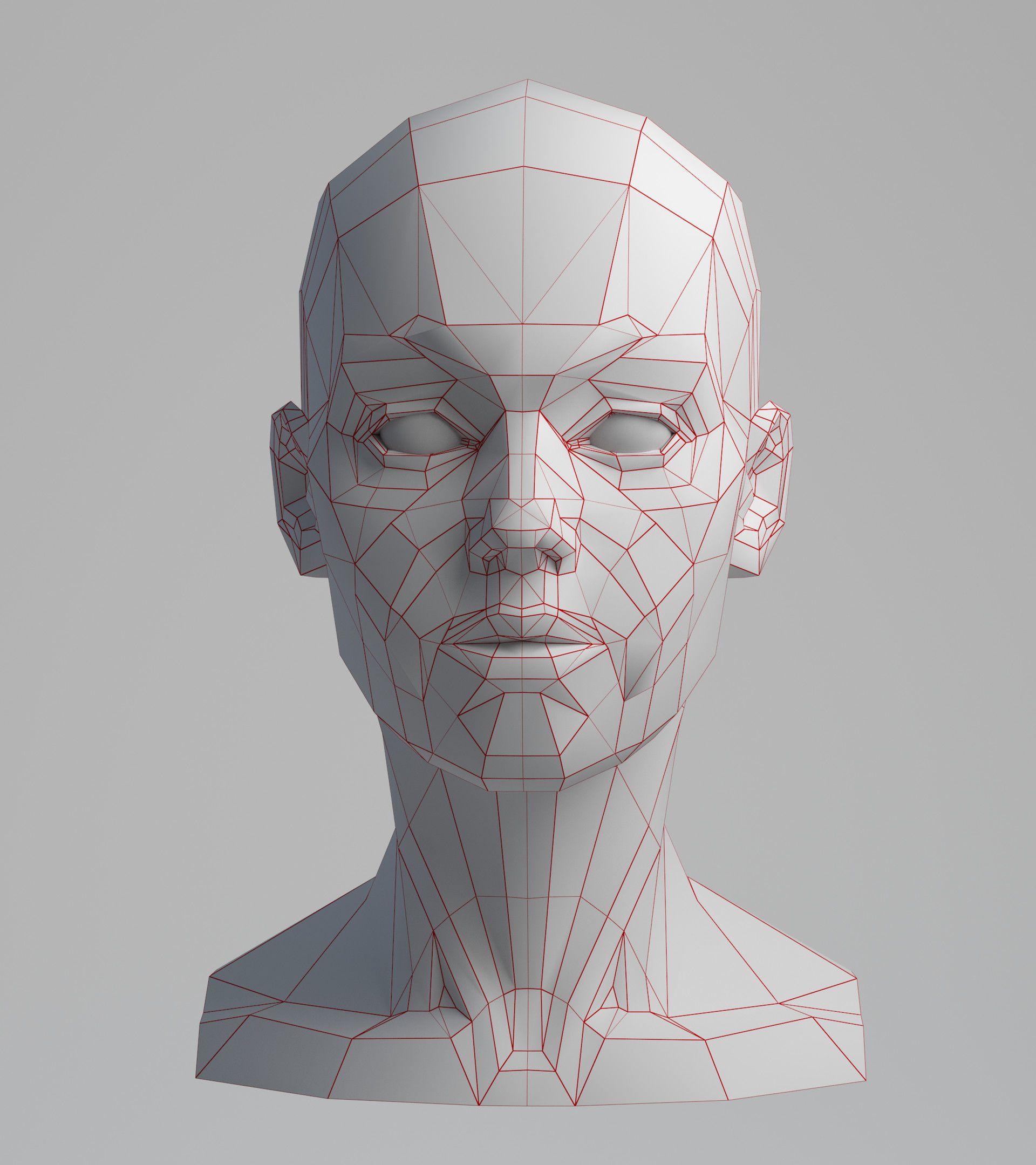 Artstation Planes Of The Face Wip Aleksandrs K Anatomy