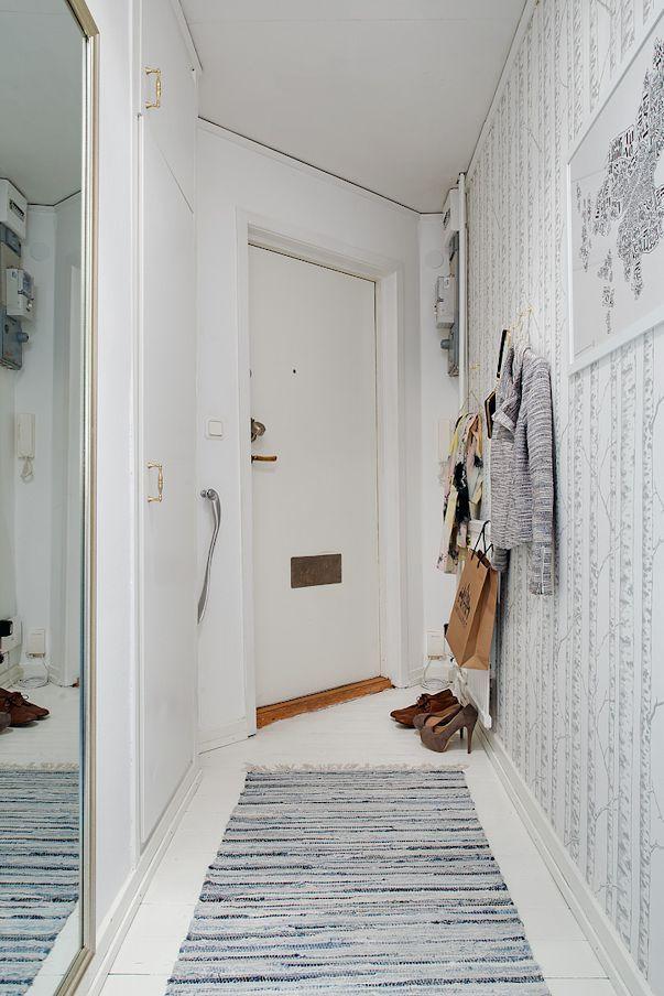 Monoambiente pequeño estilo nórdico 17