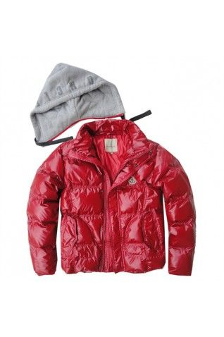 Moncler chaquetas para  rojas