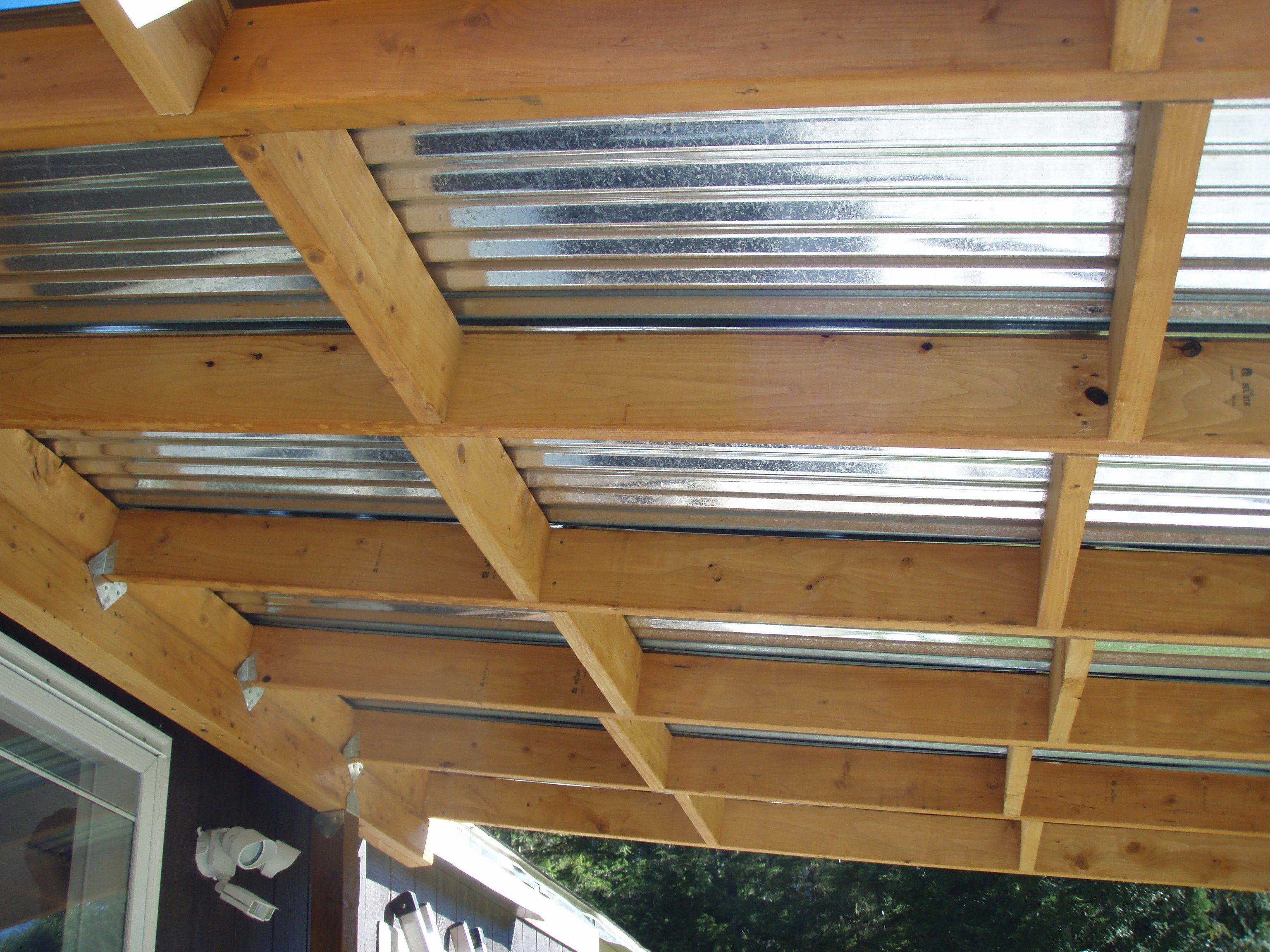 Building Covered Deck On Front Of Mobile Home. « American Alps Ranch