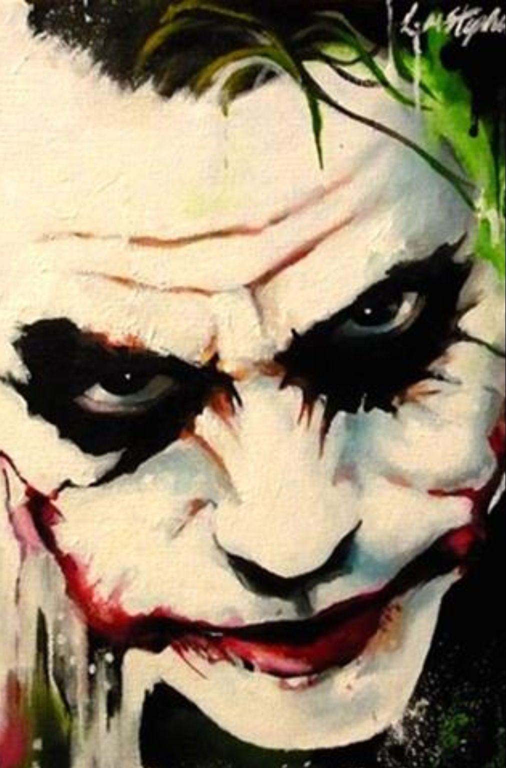 Joker by Lorna Marie | Joker | Pinterest | Joker, Batman and Comic