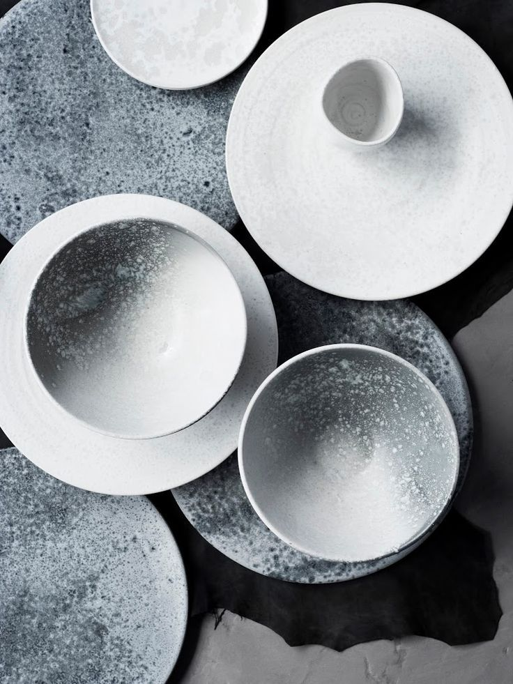 Product Design // grey and white ceramics // KH Wurtz DK - image by Stine Christiansen