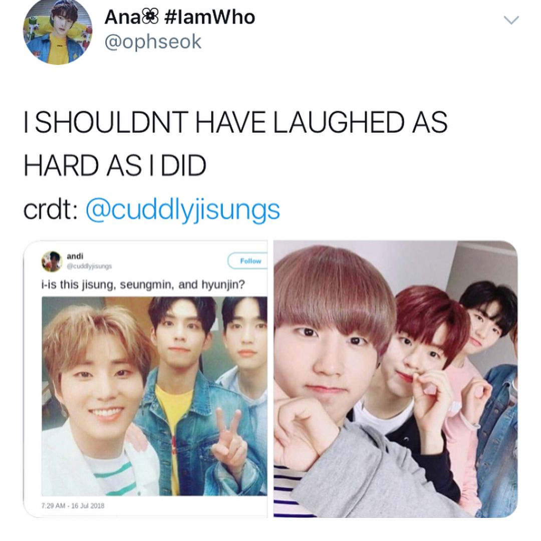 Day6 Got7 And Stray Kids Jyp Clones Their Idol Kid Memes Funny Kpop Memes Kids Groups