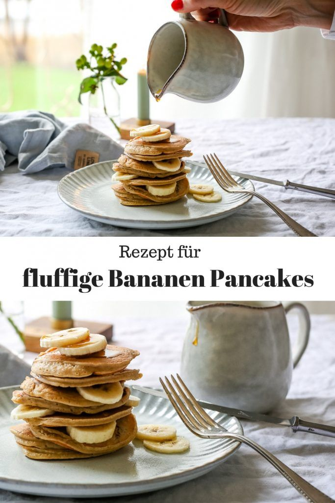 Photo of Banana pancakes – for the perfect start to the day