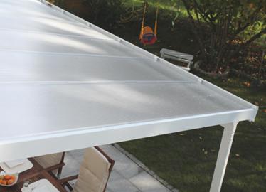 Bausatz Terrassen- Dach...! Modularer Aufbau, in 3 unterschiedlichen Breiten erhältlich...!