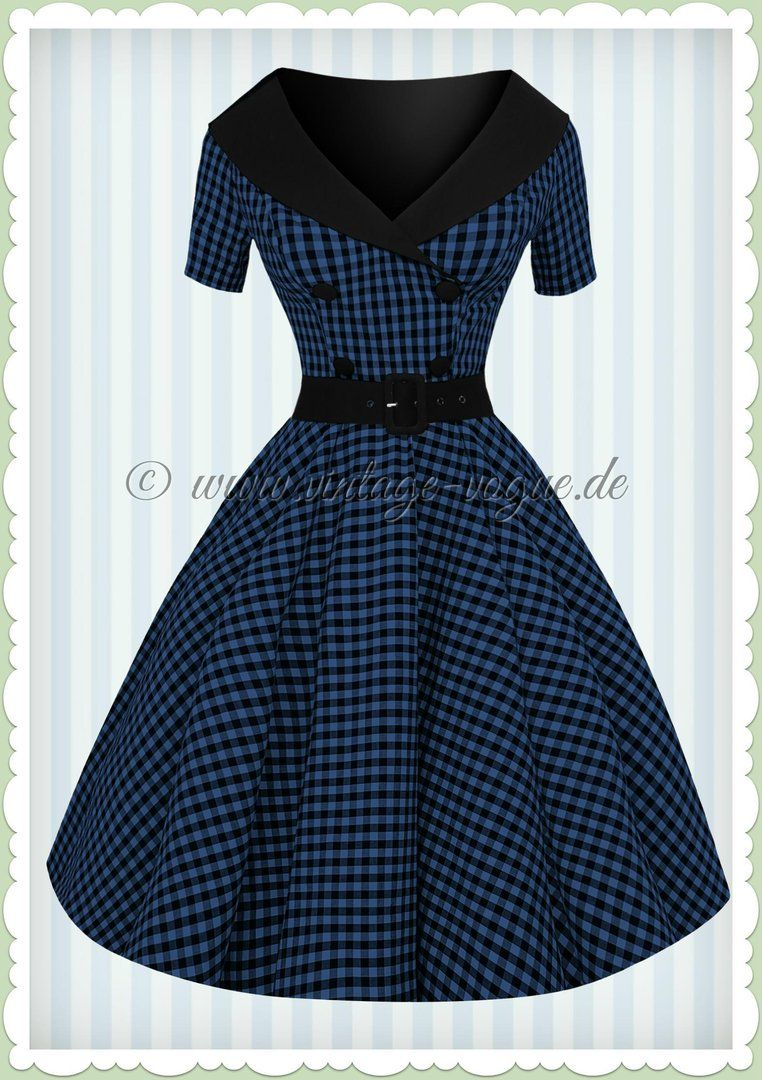 info for a7cce c7036 Hell Bunny 50er Jahre Rockabilly Gingham Kleid - Bridget ...