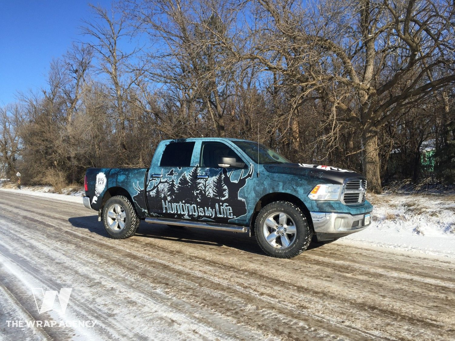 Hunting Is My Life Truck Wrap The Wrap Agency