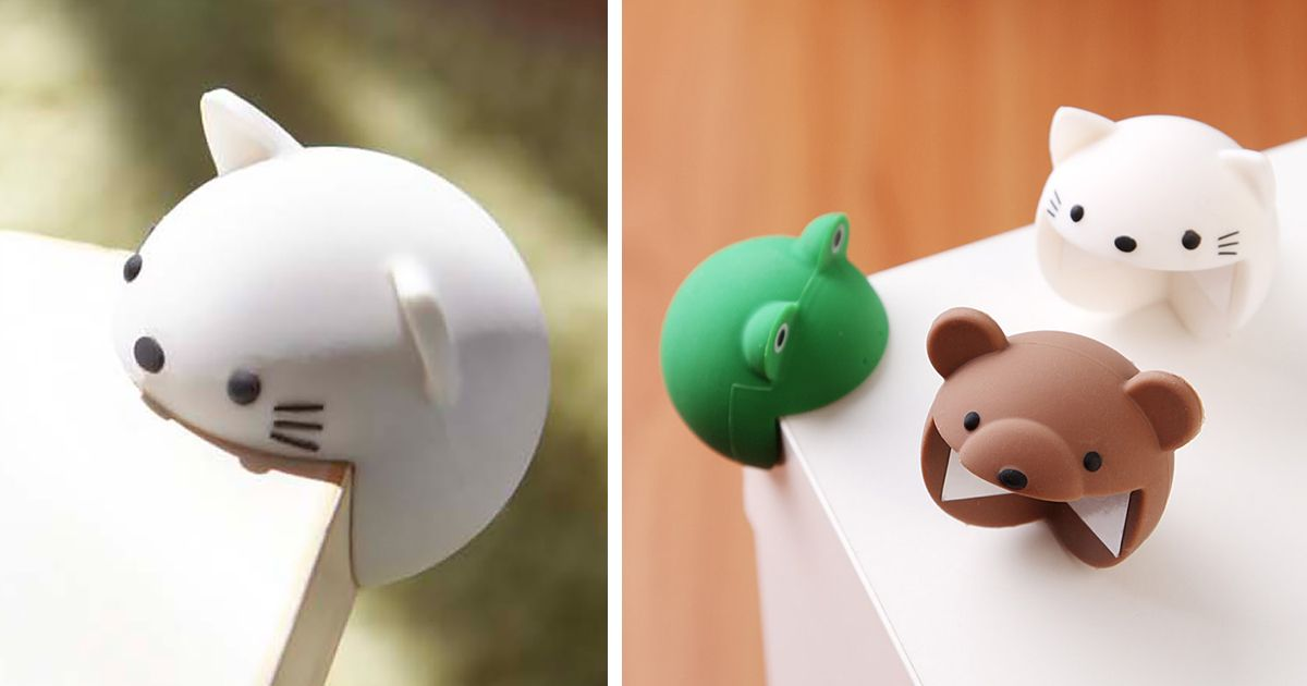 Protect Your Table Corners And Yourself With Adorable Corner Eating Animals