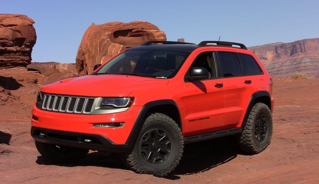 Jeep Grand Cherokee Trailhawk Ii Concept Revealed Jeep Grand Cherokee Jeep Grand Jeep Concept