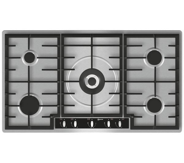 Buy NEFF T29R66N1 Gas Hob - Stainless Steel | Free Delivery | Currys ...