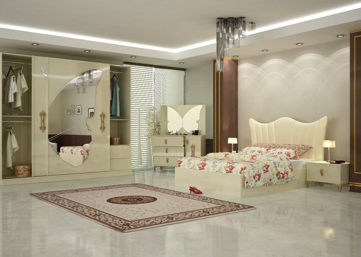 Kelebek Bedroom Furniture Set Turkey 2