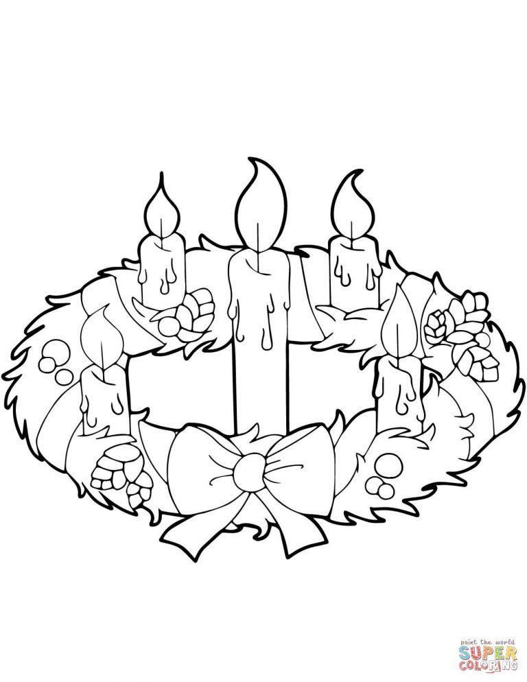 Corona De Adviento Con El Significado De Los Colores De Sus Velas Corona De Adviento Corona De Adviento Dibujo Paginas Para Colorear De Navidad