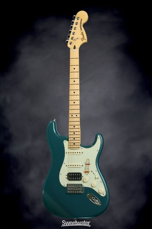 Fender Deluxe Lone Star Stratocaster Ocean Turquoise Sweetwater
