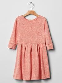 Marled fit & flare dress from Gap