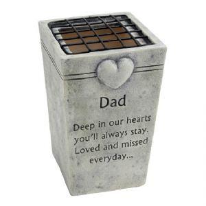 A STONE MEMORIAL VASE FOR GRAVE - DAD MEMORIAL - GRAVE ORNAMENT FLOWER POT  sc 1 st  Pinterest & A STONE MEMORIAL VASE FOR GRAVE - DAD MEMORIAL - GRAVE ORNAMENT ...