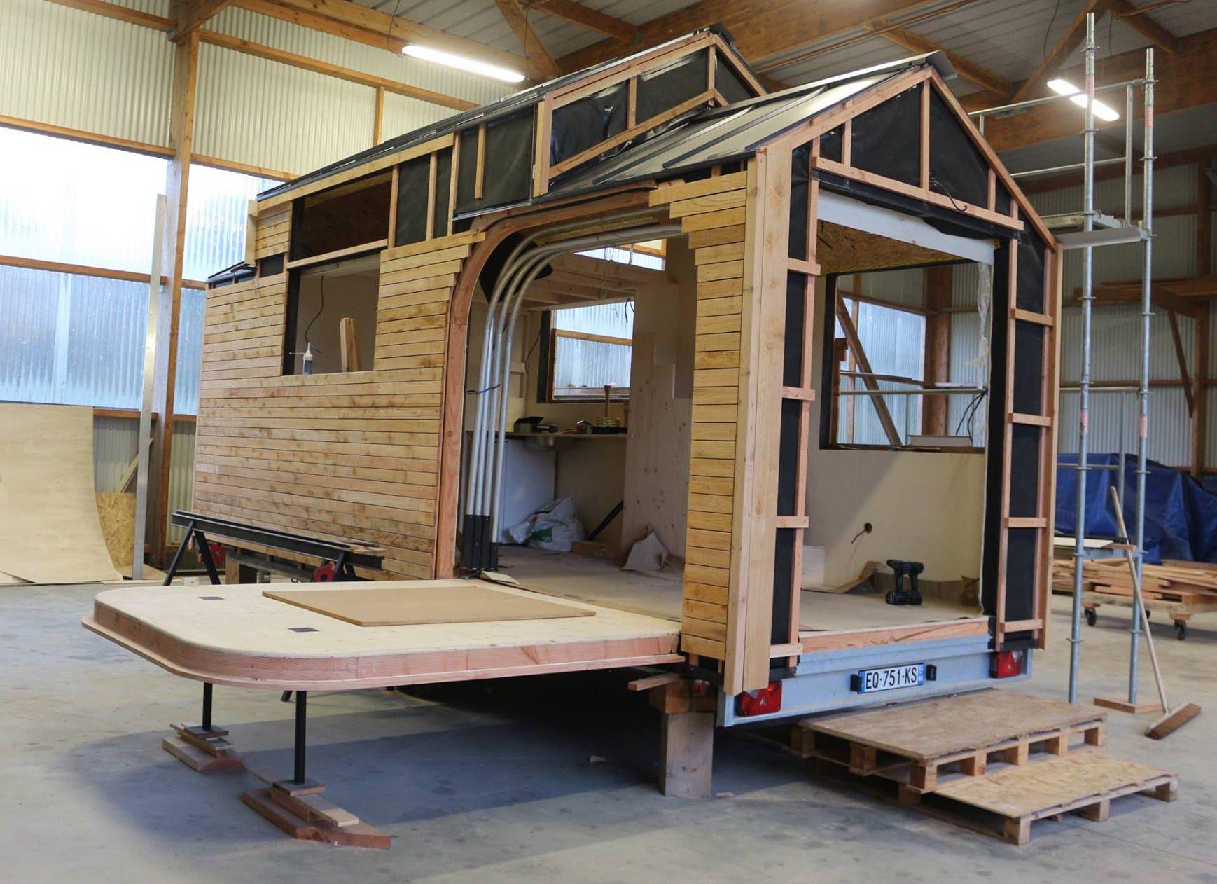 Achat Remorque Tiny House koateco construit une tiny house | Сад. Постройки | tiny