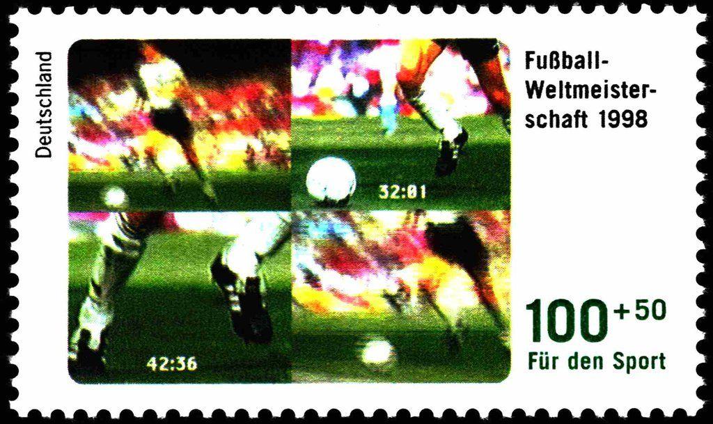 Deutschland 1998 Sporthilfe Fußball (With images