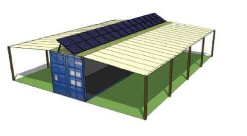 Billedresultat for shipping container workshop
