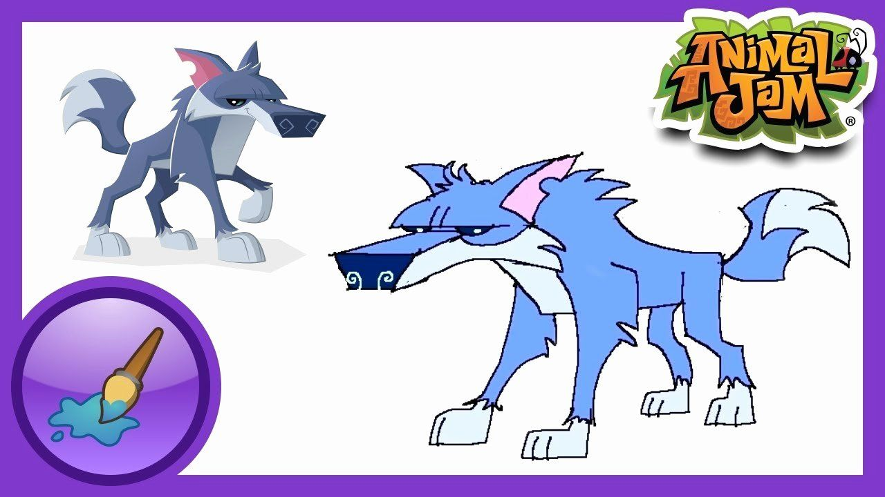 Animal Jam Coloring Pages Arctic Wolf Luxury Jam Sketch At Paintingvalley Animal Jam Arctic Wolf Animal Coloring Books