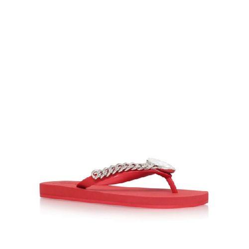 9bc62be0731c Giuseppe Zanotti Red Miami Beach Flip Flops