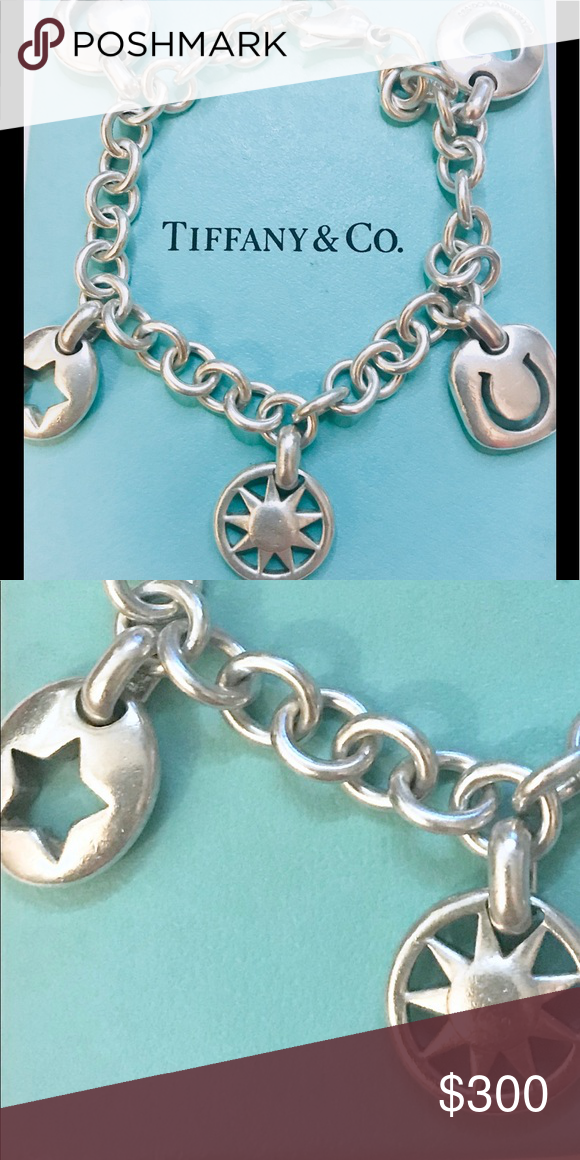 b15a18280 🌟SALE🌟TIFFANY & Co. - RETIRED VINTAGE 5 CHARM TIMELESS .925 SOLID ...