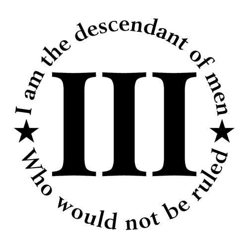 I am the descendant men who wouldnt be ruled,Flag,Molon Labe,Sticker,Vinyl Decal