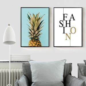 affiche nordique d 39 ananas et imprime l 39 image minim affiches pinterest affiche images et. Black Bedroom Furniture Sets. Home Design Ideas
