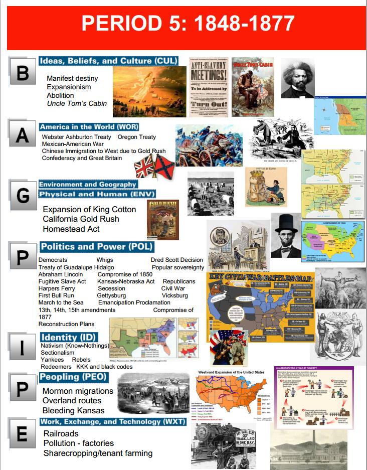 Apush Curriculum Traeger Lhs In 2021 Ap Us History History Exam Memes History Exam