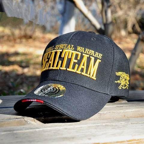 b1c73ad676e HAN WILD Genuine Outdoor New Hot Navy Baseball Caps Men Women SEALs  Tactical Caps Army Fans Casual Sports Army Visors Navy SEALs