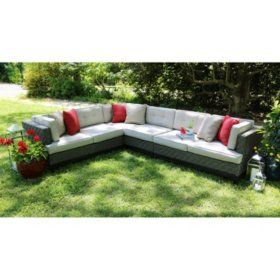 Sam S Club Camilla 4 Piece Sectional With Sunbrella Fabric