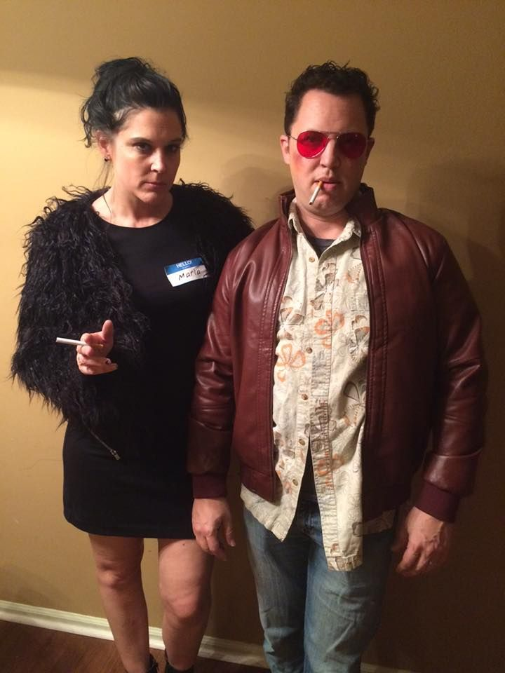 Fight Club Costumes Marla Singer And Tyler Durden Literary