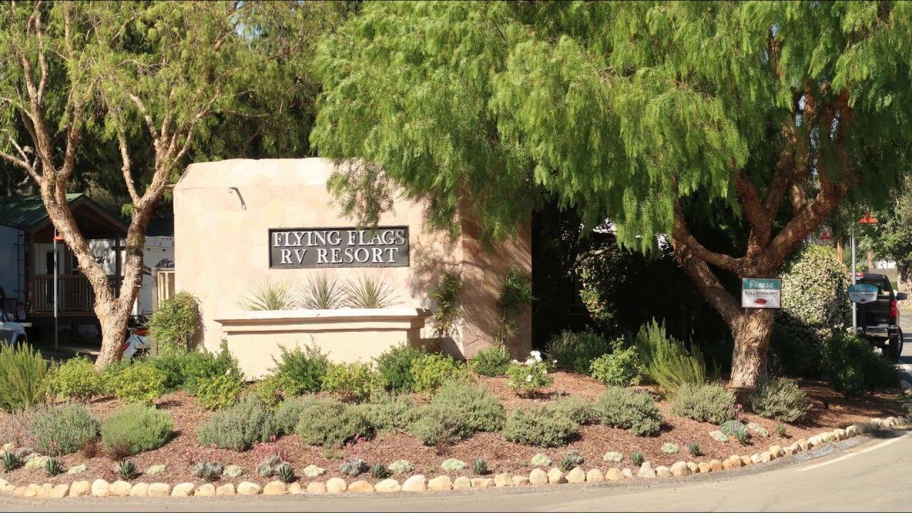 Flying Flags Rv Resort In Buelton California Resort Flying Flag California