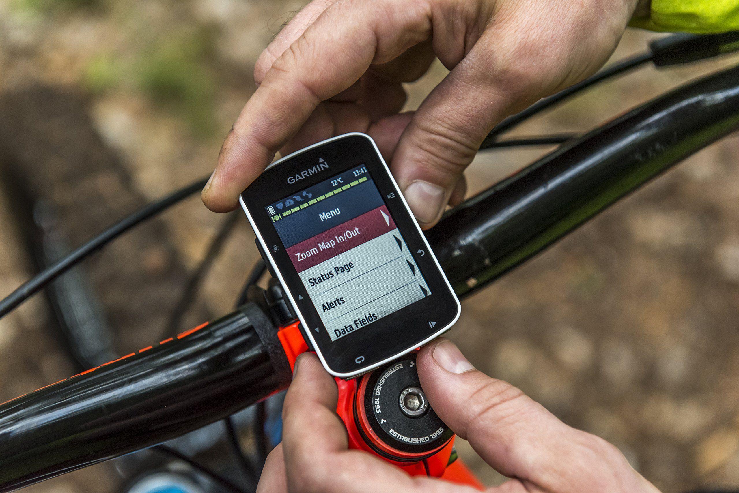 Garmin Edge 520 Bike Gps Includes Heart Rate Monitor Strap Cadence