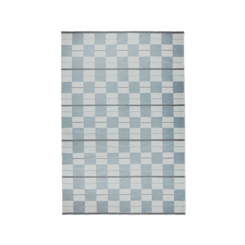 Bastad Blue Nordic Knots In 2020 Scandinavian Rug Blue Nordic Rugs
