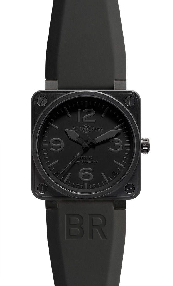 e9467ca12bb Black - Bell   Ross BR01-92 Phantom