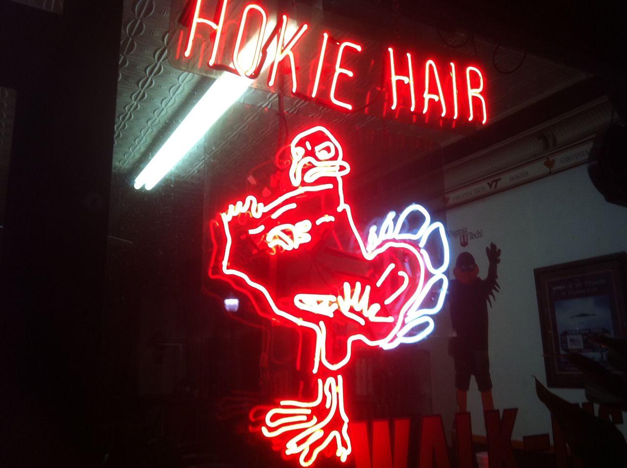 Hokie Hair (With images) Virginia tech, Virginia tech