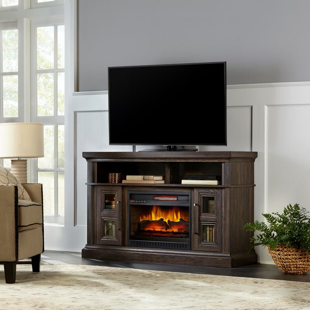 Home Decorators Collection Appling 54in Media Console Infrared