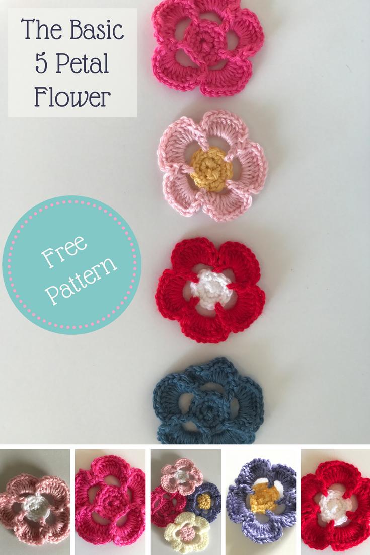 Free Crochet Flower Pattern and Tutorial | Fiber Arts Community ...