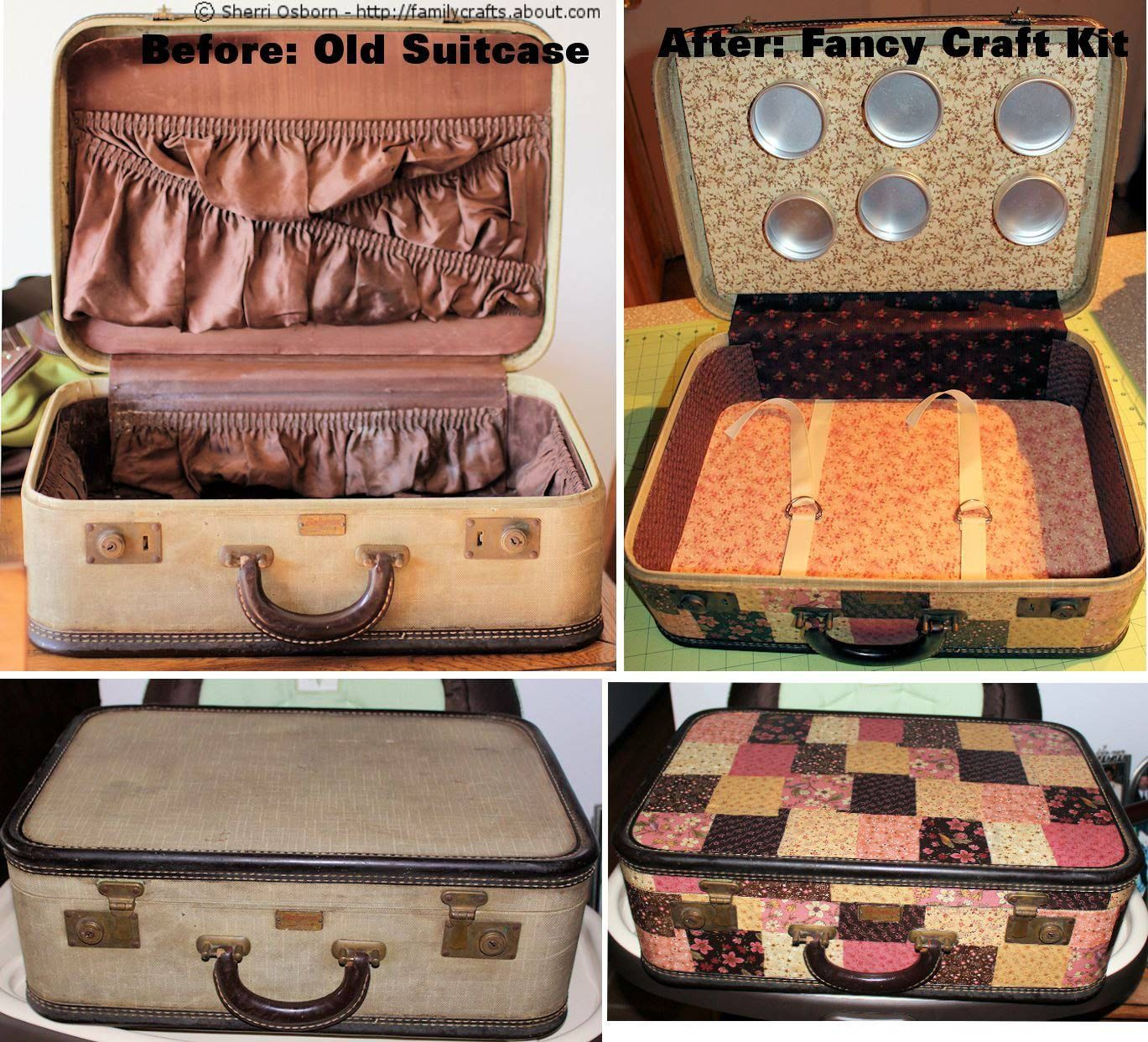 10 Creative Ways To Decorate With Vintage Suitcases With Images