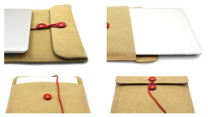leather envelope for ipad/macbook air