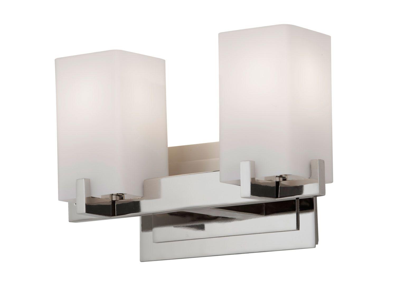 Feiss Bristol 2 Light Vanity Fixture In Oil Rubbed Bronze: Bathroom Lighting In 2018