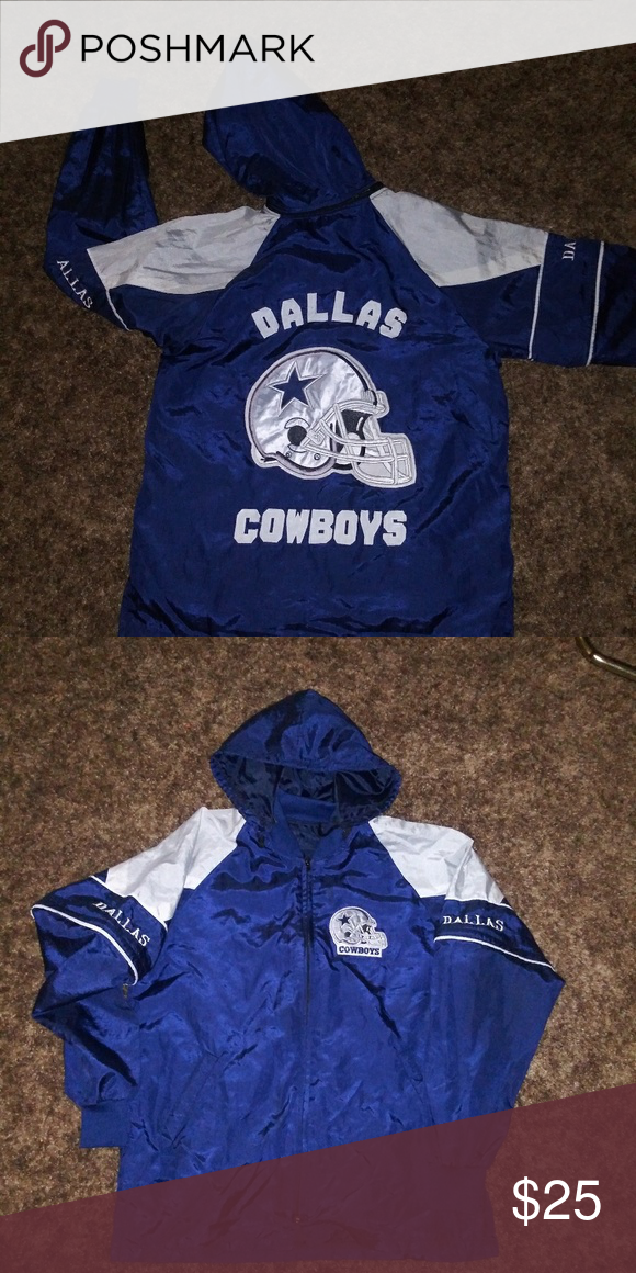 uk availability 90999 babec Vtg Dallas Cowboys jacket sz L used as is in good condition ...
