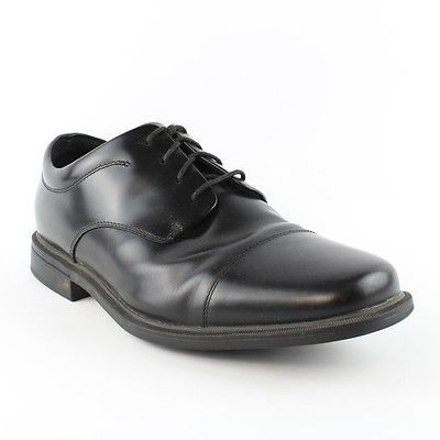 Rockport Office Essentials Ellingwood Black Shoes Mens size 11 EE  $110