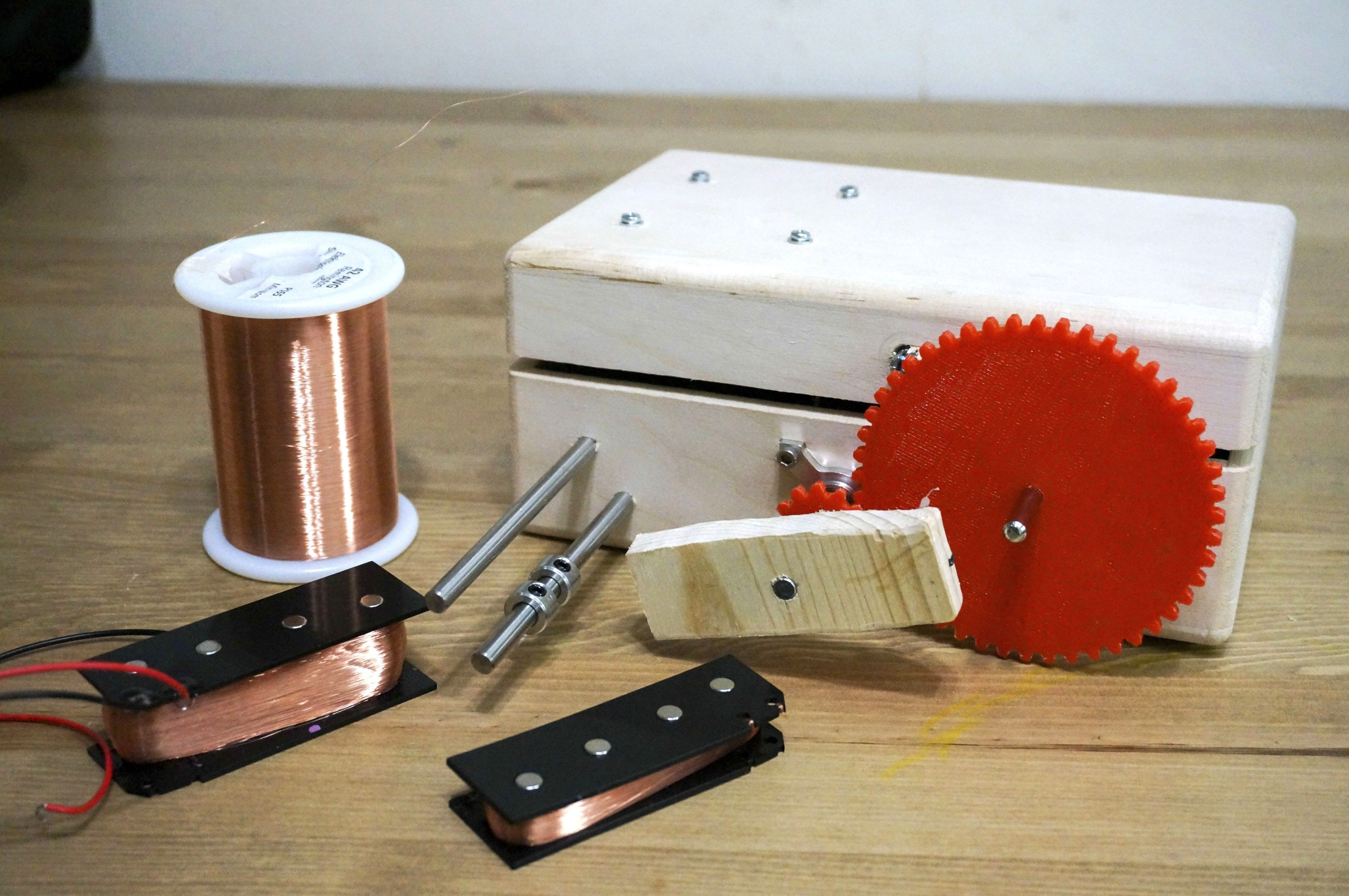 Build A Coil Winder For Guitar Pickups Other Projects Make Guitar Pickups Guitar Diy Diy Guitar Pedal