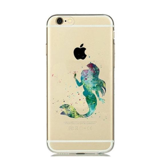 Under The Sea This Is A Stunning Silhouette Depicting Ariel The