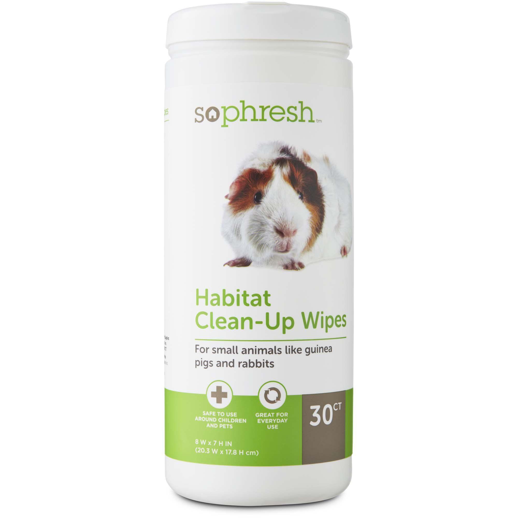 So Phresh Small Animal Habitat Clean Up Wipes Count Of 30 Small Pets Animal Habitats Habitats