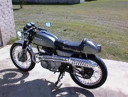 Honda Cl175 1972 Honda Cl175 Honda Bikes Moped Bike Cafe Racer